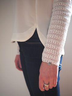 Ça sent enfin le printemps ! L'heure est donc venue de vous présenter ma toute première blouse Cézembre d'Anne Ka Couture. Eh oui ! 1 000 ans après tout le monde, je me suis enfin lancée dans ce patron aux jolis bords arrondis. On ne m'en avait dit que du bien  Je ne suis …
