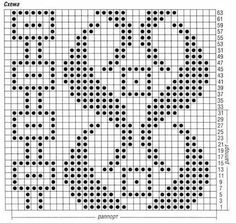 This Pin was discovered by Ber Tapestry Crochet Patterns, Crochet Stitches Patterns, Weaving Patterns, Knitting Patterns, Filet Crochet, Crochet Chart, Crochet Motif, Cross Stitch Borders, Cross Stitch Patterns