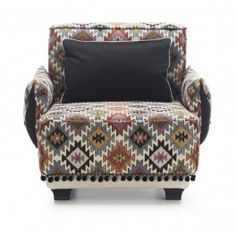 ARMCHAIR LA PAZ  Armchair La Paz  Technical characteristics: body - beech wood, chipboard, plywood  Seat and back: foam upholstery, springs  Legs: wood, Upholstery: La Paz (fabric: exclusive)  Dimensions :w-93, d-93, H-77