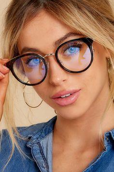 All Nighter Tortoise Clear Blue Light Glasses Glasses Frames Trendy, Girls With Glasses, Cheap Eyeglasses, Eyeglasses For Women, Brown Glasses, Asian Glasses, Oversized Glasses, Fashion Eye Glasses, Wearing Glasses