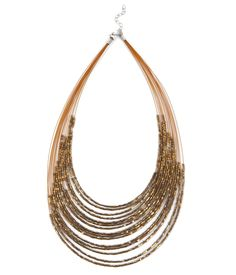 Womens multi-strand necklace - Accessories Camaieu - Womens ready-to ...
