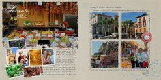 Barbara's Cre8ive Escape: Vacation Album Pages | Mediterranean Cruise by Barbara Unzen