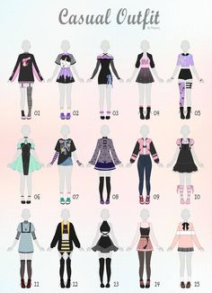 Closed) casual outfit adopts 31 by rosariy relatable в 2019 Anime Outfits, Mode Outfits, Casual Outfits, Drawing Anime Clothes, Dress Drawing, Manga Clothes, Drawings Of Clothes, Outfit Drawings, Fashion Design Drawings
