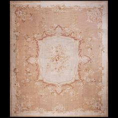 Stock Id: #17776    General Rug Type:       European    Specific Rug Type:       Aubusson    Circa: 1880    Color: Other    Origin: France    Width: 15' 1'' ( 459.7 cm )    Length: 18' 0'' ( 548.6 cm )