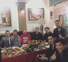 """Ablajan Awut Ayup, Nurmuhammet Hajim, Murat (Six City), Ezimet Kurban, Hezriti Alimuhammettursun bilen . Urumqi, Around The Worlds, Restaurant, Studio, City, Instagram Posts, Painting, Food, Diner Restaurant"