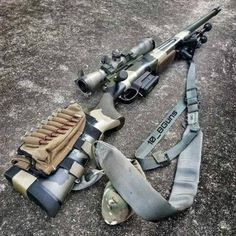 Post on gunsblades Weapons Guns, Guns And Ammo, Bolt Action Rifle, Military Guns, Hunting Rifles, Cool Guns, Assault Rifle, Firearms, Shotguns