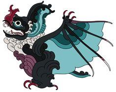 Noh soots' (big bat) noivern pokemayan!