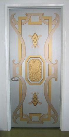 art deco painted doors - Google Search