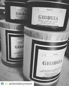 @jackanddarcymacon  need to spice up the smell of your home? our @southernfireflycandle candles are the perfect candle to do the trick! our newest scent is the Georgia Peach! come get yours today  #candles #candlesonthemove #southernfirefly #georgiapeach #georgia