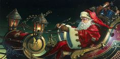 Father Christmas: The Sleigh Ride By Dean Morrissey
