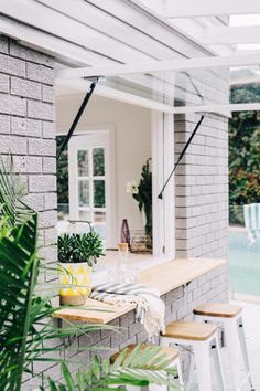 A ton of property holders wish that they have all the more living space inside. They frequently overlook what they can do to change their outside space into Home, Renovations, Home Reno, Indoor Outdoor Living, Three Birds Renovations, Boho Beach House, Flipping Houses, Living Spaces, Pool Houses