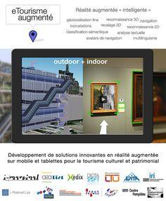 Projet eTourisme Augmenté / Réalité augmentée intelligente by i-Marginal. Avatar, Mobile Design, Desktop Screenshot, Gratitude, Tourism