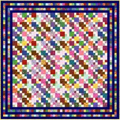 """HIGELTY PIGELTY - 101"""" - Quilt-Addicts Precut Quilt Kit or Finished Quilt King size"""
