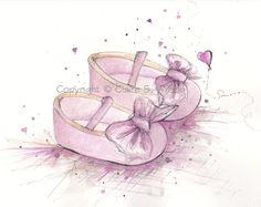 Baby Dior Bows - Nursery Art