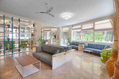 Interior design progettato con cura dei dettagli
