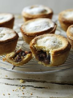 """That's a mince pie with hidden depths - much like Paul Hollywood himself. Bridges makes these for Christmas each year, seen in """"Goodwill to All Men. Pie Recipes, Baking Recipes, Dessert Recipes, Baking Desserts, Dessert Bread, Pastry Recipes, Thai Recipes, Xmas Food, Christmas Cooking"""