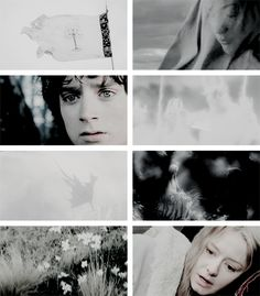 """She said to me, """"Even now, there is hope left.""""       But  I  c a n n o t  see  it #lotr"""