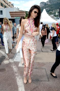 In Zimmermann at the Monaco Formula One Grand Prix at Circuit de Monaco.   - ELLE.com