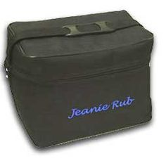 Jeanie Rub Nylon Shoulder Bag