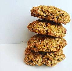 Havre- og gulrotcookies