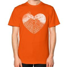Love Birds Unisex T-Shirt (on man)