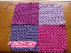Uniendo las aplicaciones de conchitas   Blog a Crochet - ACrochet