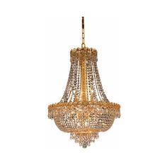 Elegant Lighting 1900D20G Century 12-Light, Two-Tier Crystal ($484) ❤ liked on Polyvore featuring home, lighting, ceiling lights, chandeliers, indoor lighting, royal cut clear crystal, crystal lighting, chain lamp, two tier chandelier and glass crystal chandelier