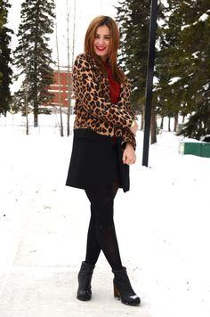 bornlippy // leopard coat