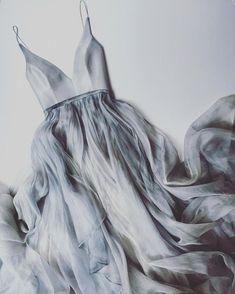 dove grey Raincloud Gabrielle Dress by LeanneMarshallOfficial Click above VISIT link for more info #bridesmaiddress #bridesmaids
