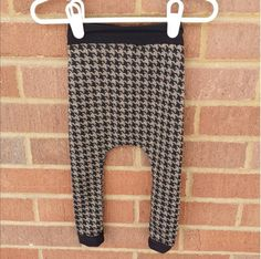 Clothing SET Houndstooth Baby Leggings with by LittleIvieRose