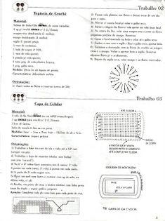 topiaria + celular | Receitas do Croche Croche!
