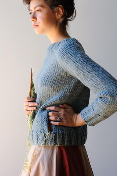 Agnes sweater knitting pattern by Melissa LaBarre - Download at LoveKnitting