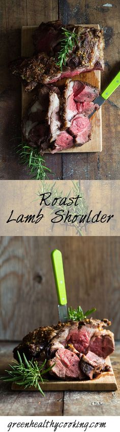 The easiest and best Roast Lamb Shoulder you will make in your life! A must make for anybody on a real food, clean-eating, healthy-eating diet.