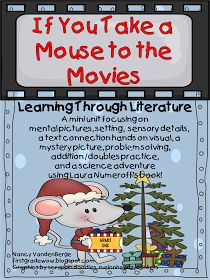 "First Grade Wow: What will you leave for Santa? And an updated ""If You Take a Mouse to the Movies"" unit"