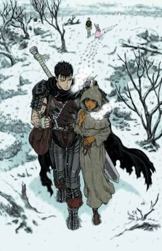 Guts and Casca