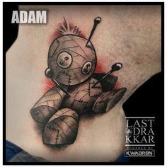 Done by Adam from Last Drakkar tattoo studio in Warsaw. #tattoo #voodoo #voodootattoo #colortattoo #realistictattoo #eternalink #newschooltattoo #neotradtattoo #colorfulltattoo #tatuazwarszawa  #chmielna26