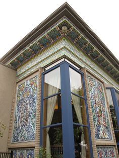 Dushanbe Tea House in Boulder, Colorado. It's a gift from Boulder's on