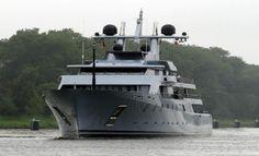 Leonid Mikhelson yacht
