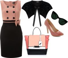 """""""Spring Outfit"""" by cyprist ❤ liked on Polyvore"""
