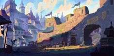 ArtStation - A new day, Slawek Fedorczuk