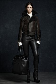 Belsatff suede military bomber jacket. Visit www.lifeandstyleonadime.com for fall trends. Image stilletto bootlover_83