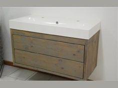 Badkamermeubel steigerhout, we maken alles op maat