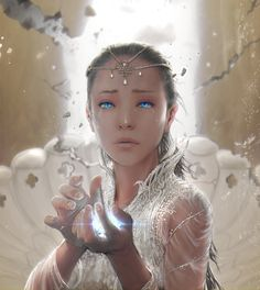 Moonchild - NeverEnding Story by Steve99 (cropped for detail). Fantasy character inspiration.