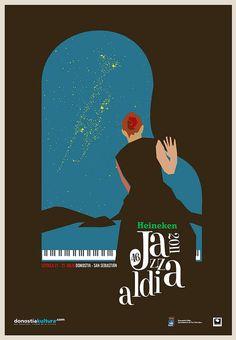 Jazz Fest poster contest by L.E.GRÁFICO, via Flickr