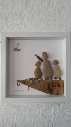 No:50 Balıkçının Karısı ve Çocukları by Nebiye Karataş Marmara. 23cmx23cm