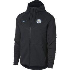 Shop for your Nike Manchester City Tech Fleece Windrunner Jacket from SoccerPro. Kun Aguero, Soccer Shirts, Soccer Jerseys, Jersey Atletico Madrid, Windrunner Jacket, Nike Tech Fleece, Heather Black, Manchester City, Sports
