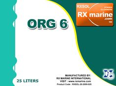RXSOL-20-2059-025 / 050  is an all purpose degreaser for cleaning of Oil and Sludge with emulsifiers. It is an excellent blend of powerful cleaner and emulsifying inorganic products .Specially designed  for engine room, degreasing of metal and cargo  tank cleaning .Main feature of this product is, it finally dissociate slop emulsion  to separate oil and water and inhibit calcium, magnesium, and silica scale and also help corrosion control by dispersing iron oxide.This provide us with ability