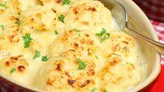 Conopidă cu sos de brânză, la cuptor – o bunătate!