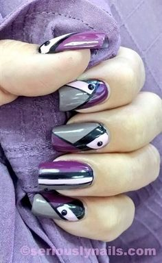 Color Block - Nail Art Gallery
