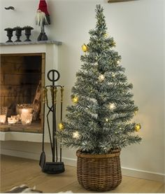 Snow Tipped Fibre Optic Christmas Tree with Stars - just one of our extensive range of Christmas trees